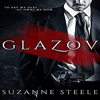 Glazov audiobook cover art