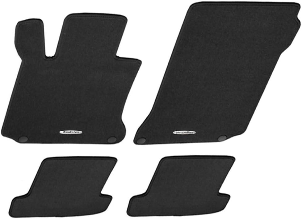 Amazon Com Mercedes Benz Oem Carpeted Floor Mats 2007 To 2013 S Class S550 S400 S350 S63 S600 Color Black Automotive