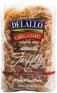 delallo organic whole wheat farfalle