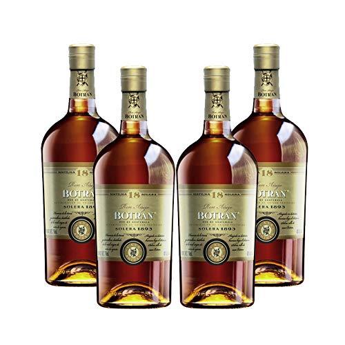 Ron Botran 18 de 70 cl - D.O. Guatemala - Bodegas Gonzalez Byass (Pack de 4 botellas)