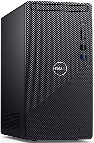 Dell Inspiron 3000 3880 2020 Premium Desktop Computer I 10th Gen Intel Hexa-Core i5-10400 (> i7-7700) up to 4.30 GHz I 8GB DDR4 256GB SSD 1TB HDD I with Mouse and Keyboard WiFi Win 10