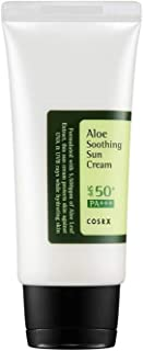 COSRX Aloe Soothing Sun Cream SPF50+ PA+++, 50ml, 0.09 kg Pack of 1