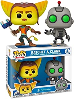 Funko Pop! Ratchet and Clank Playstation Exclusivo 2 Pack