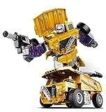 AJIAO Juguetes de Trañsfórmers Clase Grimlock Figura de acción Robot Juguetes Juego de Figuras 6IN1 Juegos de Juguetes para niños 6 y más Juguete clásico Grimlock