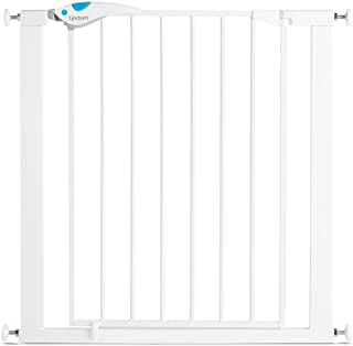 Lindam Easy Fit Plus Deluxe - Barrera de Seguridad, Blanco, 76-82 cm