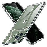 ESR iPhone 11 Pro ケース クリア ソフトケース アイホン 11 Pro カバー薄型透明TPU 【指紋防止 黄変防止 衝撃吸収 耐傷性 安心保護 軽量 Qi急速充電対応】5.8インチ 11 Pro 專用スマホケース(クリア)