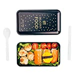 LHI 1200ML Microwavable Lunch Box BPA Free Portable Bento Box Leakproof Food Container