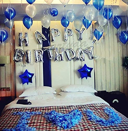 AA HUAYE誕生日 飾り付け 風船、Happy Birthday バルーン、パーティー 装飾 風船、バースデー 飾り バルーン HB7S
