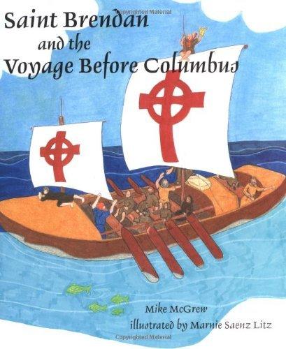 Święty Brendan i podróż przed Kolumbem [Mike McGrew]