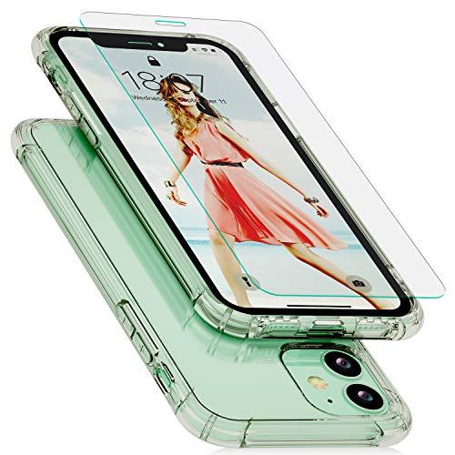 """IVSUN Cover per iPhone 11, 4,49€ invece di 8,99€ ✂️ Codice sconto: FGJUHVGOs Bumper TPU Case Compatibile iPhone 11 (2019) 6,1"""" - Sottile e Trasparente"""
