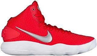 d98432bd9559 Nike Men s Hyperdunk 2017 TB Basketball Shoe Red Metallic Silver White Size  13 M
