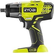 """Chave de impacto RYOBI 18-Volt ONE+ sem fio 3 velocidades 1/2"""" (somente ferramenta)"""