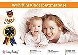 Best For Kids Kinderbettmatratze 80x160x14cm aus Frottee, Qualität nach Ökotex 100 - Standard und TÜV Gesteppte und Weiche Kindermatratze - 2