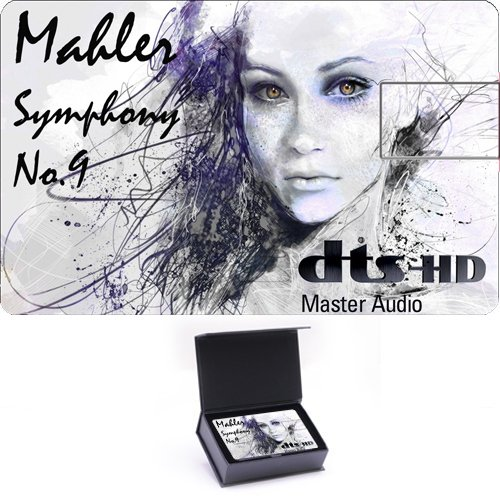 High Definition Music Card - THE FUTURE OF RECORDED MUSIC - Prototype 2020 - Mahler: Symphony No.9 [Blu-ray]
