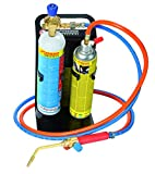 Rothenberger Industrial - Roxy Kit Plus - Autogenschweiß- und Hartlötgerät - inkl. Gas- und Sauerstoffbehälter - 35740