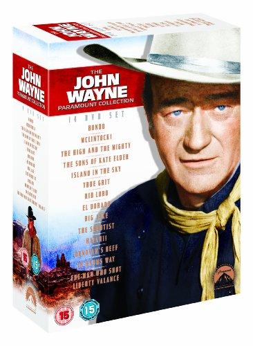 The John Wayne Ultimate Collection (Hondo, Mclintock!, True Grit, Rio Lobo, El Dorado, Big Jake, The Shootist, The Sons of Katie Elder, The Man Who ... Sky, Donovan's Reef, Hatari!, In Harm's Way) [UK Import]