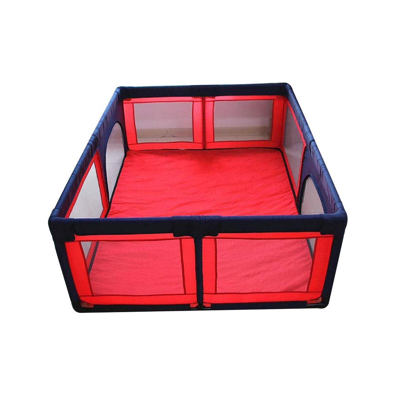 YDプレイペン 安全フェンス、子供の遊びフェンスベビーセーフティフェンス幼児クロールマットアンチフォールズフェンス屋内世帯/ベビーサークル (サイズ さいず : 1.5 * 1.9m)