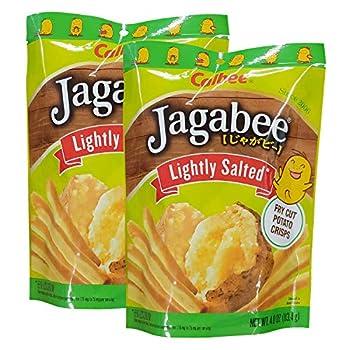 Calbee Jagabee Lightly Salted Potato Crisps 113.4g 2 Pack