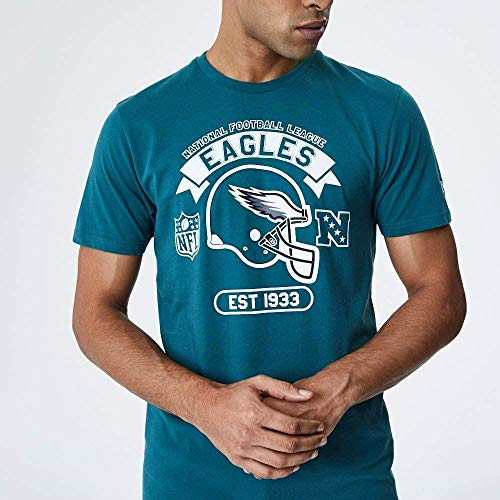 New Era NFL Graphic Helmet tee Phieag PNG Camiseta de Manga