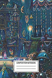 """Notebook: Howl's Room In Moving Castle , Journal for Writing, Size 6"""" x 9"""", 164 Pages"""