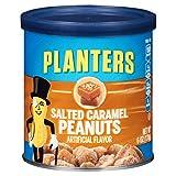 Planters Salted Caramel Flavored Peanuts (6 oz Jars, Pack of 8)