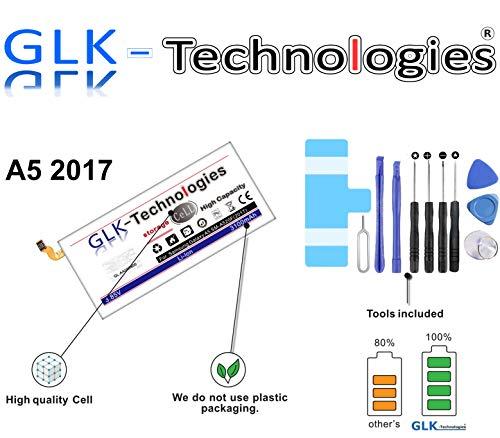 Original GLK-Technologies® High Power | Akku passend für Samsung Galaxy A5 2017 SM-A520F | 3100 mAh // Reparaturset Werkzeug Set 2020 B.j