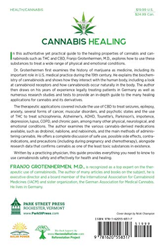 51ElhpC0k5L - Cannabis Healing: A Guide to the Therapeutic Use of CBD, THC, and Other Cannabinoids