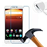 Lusee 2 Pack Screen Protector for Alcatel A3 XL 6.0