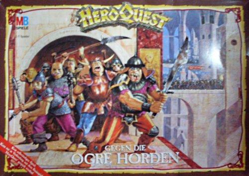 GEGEN DIE OGRE HORDEN - Hero Quest Erweiterungs-Set (mit 7 neuen Abenteuern)
