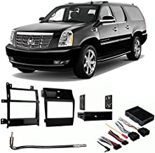 Compatible with Cadillac Escalade 2007-2011 Aftermarket Harness Radio Install Dash Kit