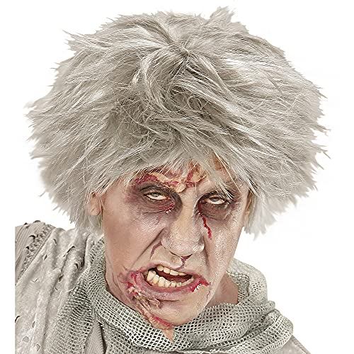 Widmann 06743 ? Perruque Zombie Gris
