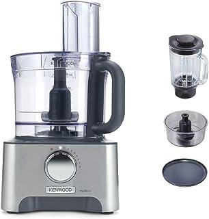 Kenwood FDM790BA Robot de cocina, 1000 W, plástico, aluminio, 8 velocidades, color plata