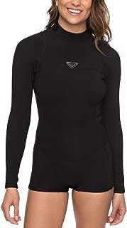 Roxy Womens 2/2Mm Syncro Long Sleeve Back Zip Flt Springsuit for Women Erjw403014