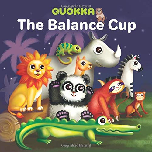 The Balance Cup: New Jungle Book for 1 2 3 year olds with 12 animals who leave in beautiful jungles. Their aim is to win the annual competitions in the jungles. What can help them?