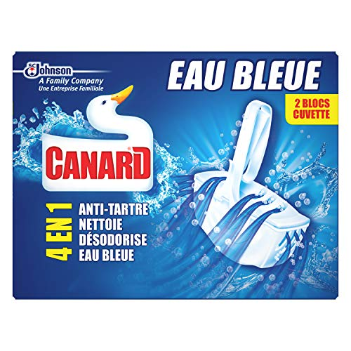 Canard WC 4en1 Bloc Colorant Eau Bleue 2 ct 80 g