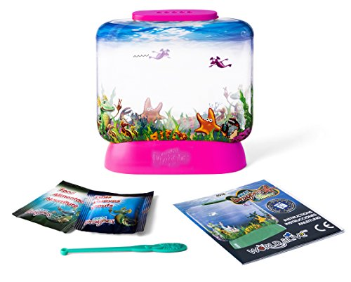 Aqua Dragons- Amigos Marinos Juguete educativo, Color versión en verde, rosa, lila, amarillo, turquesa (World Alive 4016) , color/modelo surtido