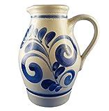 Westerwälder Keramik Steinzeug Krug Weinkrug Milchkrug