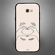 Samsung Galaxy A7 2017 Hand Heart