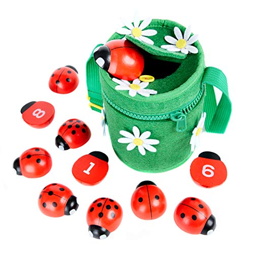 Counting Ladybugs - Montessori Counting...