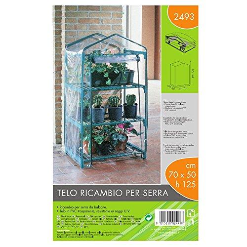 Verdemax 2493 - Telo di Ricambio per Serra Azalea 3