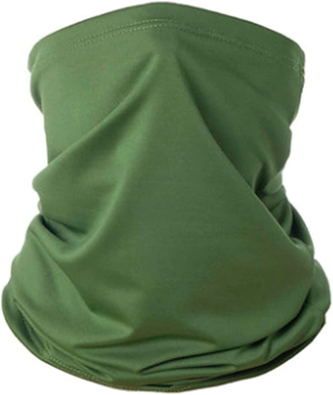 Men Women Summer Neck Gaiter UV Face Shield Cover Scarf Mask Multifunctional Outdoor Cycling Bandana