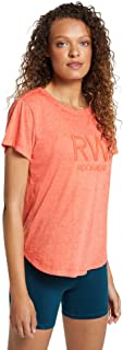 Rockwear Activewear Women's React Tee Tango 10 from Size 4-18 for T-Shirt Tops