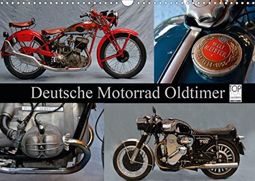 Deutsche Motorrad Oldtimer (Wandkalender 2021 DIN A3 quer)