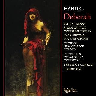 Handel - Deborah / Y. Kenny · Gritton · Denley · Bowman · M. George · The King's Consort · King