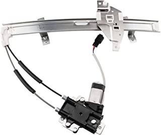 741-838 10256559 10315141 10321732 Rear Left Driver Side Power Window Regulator with Motor Compatible for 1997-2003 Grand Prix Sedan
