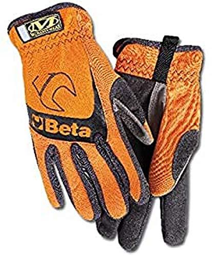 Beta 9574 O-l Gants de travail, grande, Orange,