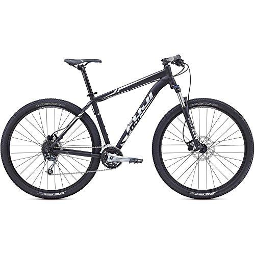 "Fuji Nevada 1.5 29R Twentyniner Mountain Bike 2017 (Schwarz/Silber, M (17""/43.2cm))"