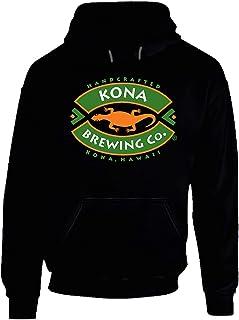 New Beer Kona Hawaii Hoodie Black.