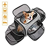 Estarer Soft Sided Pet Carrier for Large Cat,Small Dog Car Seat Travel Bag,Puppy Carrier Airline Approved...