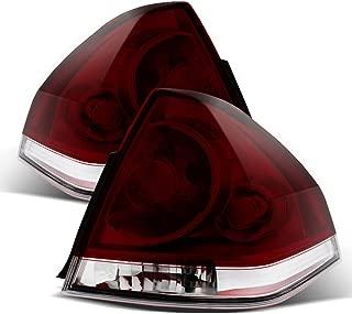 ACANII - For 2006-2013 Chevy Impala SS/LS/LT/LTZ Dark Smoke Tail Lights Rear Brake Lamps Pair